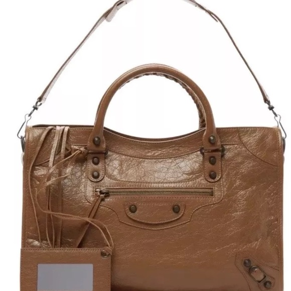 Balenciaga Handbags - SALE - Balenciaga classic city cinnamon brown 2015 cdfe20963bdd7